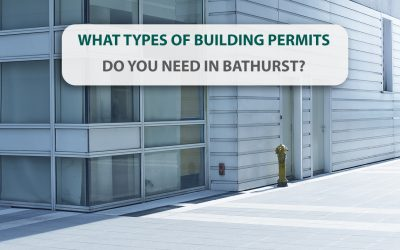 What types of building permits do you need in Bathurst?