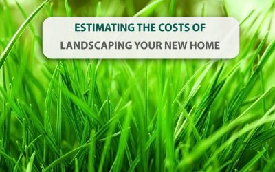 Estimating the costs of landscaping your new home